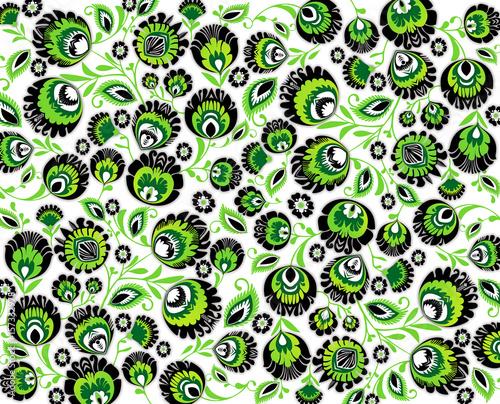 kujawskie kwiaty - zielone