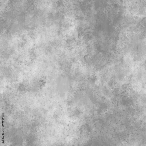 Gray Concrete  Seamless  Texture Canvas Print