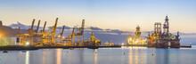 Sea Drilling Platform