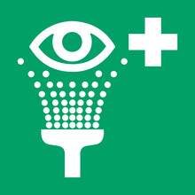 ISO 7010 E011 Eyewash Station