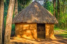 Traditional, Tribal Hut Of Kenyan People, Nairobi, Kenya