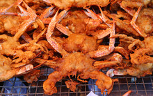 Crab Fritters, Crispy Crab.