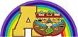 A is for Ark - Noah Biblical Illustration