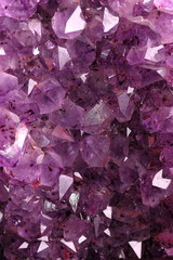 Obraz na PlexiTexture from natural amethyst
