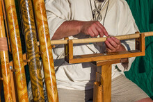 Shepherd's Pipe (fujara Flute) - Folk Art