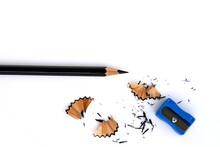 A Black Pencil , Pencil Sharpe...