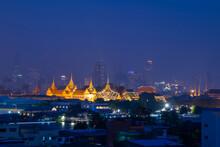 Wat Phra Kaew At Night
