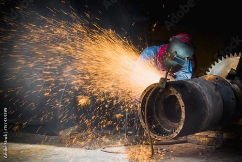 Gouging Welding, Industrial welder wear safety protective mask