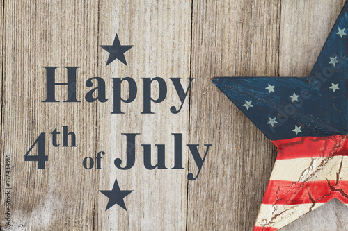 Fotografia  Happy 4th of July Greeting
