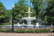 Forsyth Park Fountain, Savannah, Georgia