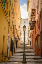 Straat In Bastia (Corse)