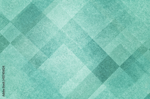 pretty abstract pastel mint green background with diamond squares and triangle shapes layered in classy artsy