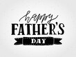 Happy Fathers Day lettering typography for postcard/card/invitation. Greeting card for Fathers Celebration. Father's Day vector illustration EPS 10. Fathers logo/badge/icon. Father's day banner/flyer