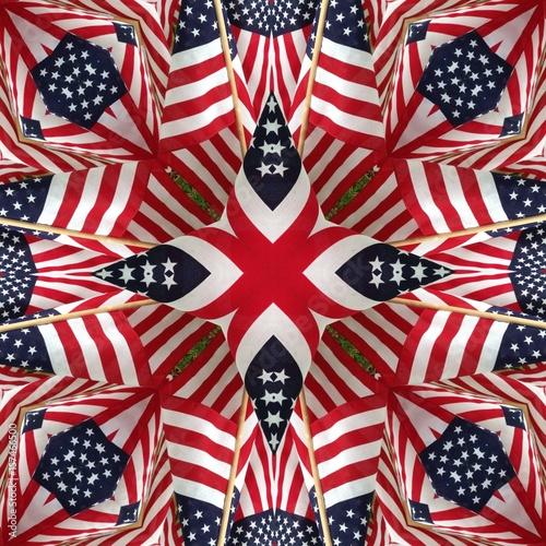 American Flag Kaleidoscope Patterns Buy This Stock Photo And Fascinating Kaleidoscope Patterns