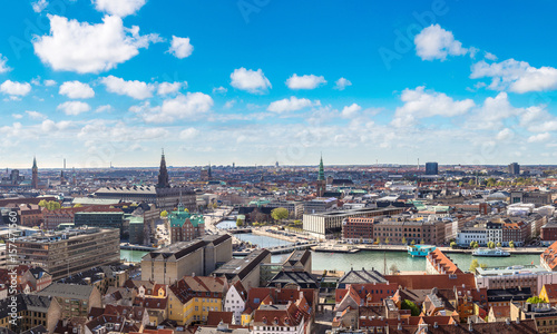 Photo  Aerial view of Copenhagen