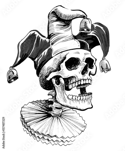 Fotomural Dead jester