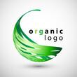 ekologiczne logo wektor