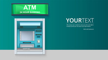 Bank Cash Machine. ATM - Autom...