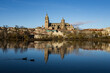Salamanca, Spagna. Vista dal Rio Tormes