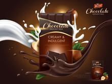 Hazelnut Chocolate Ad