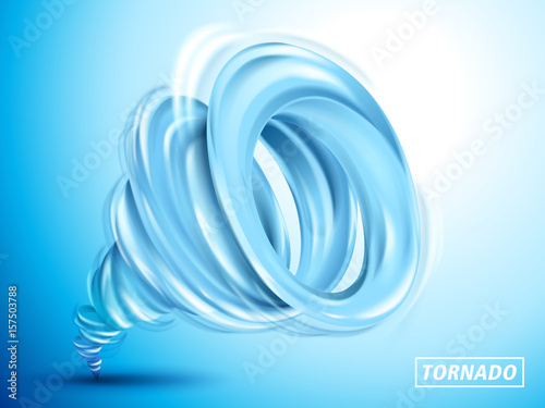 Photo  blue cyclone element