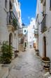 Alley in Locorotondo, Puglia, Italy