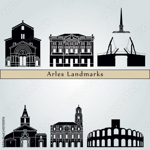Photo Arles Landmarks