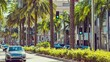 Pan effect on a Rodeo Drive still image