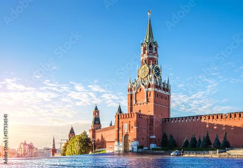 Fotografie, Obraz  Спасская башня Кремля The Spasskaya Tower of the Kremlin