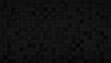 Randomly Extruded Black Cubes ...