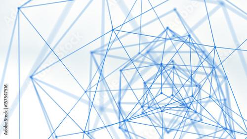 abstrakcyjna-niebieska-siec