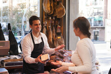 Shop Of Jamon And Cheese