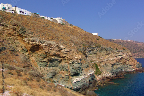 Printed kitchen splashbacks Athens Photo from traditional island of Sifnos at summer, Cyclades, Greece