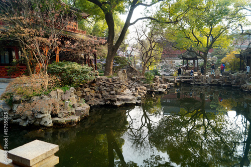 Shanghai Garten Poster