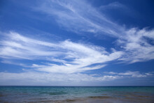 Cirrus Clouds Over Ocean