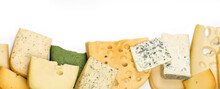 Different Kinds Of Cheeses Iso...