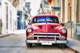 Front of old american car in a street of havana - 157581554