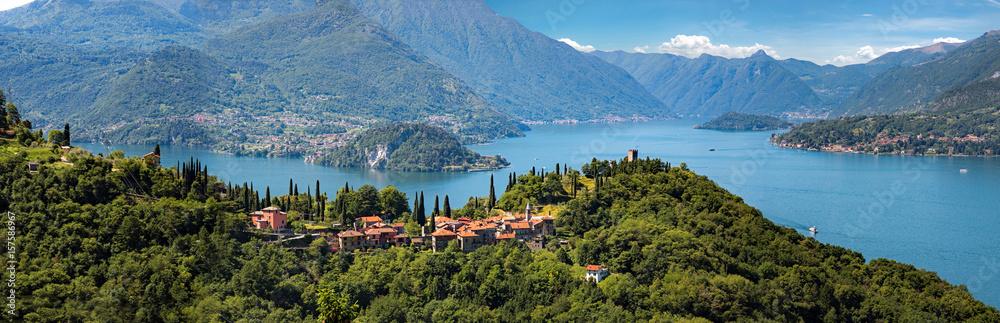 Lago di Como - Vezio, castello di Vezio - Italy