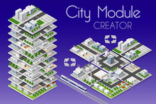 City Module Creator Isometric ...