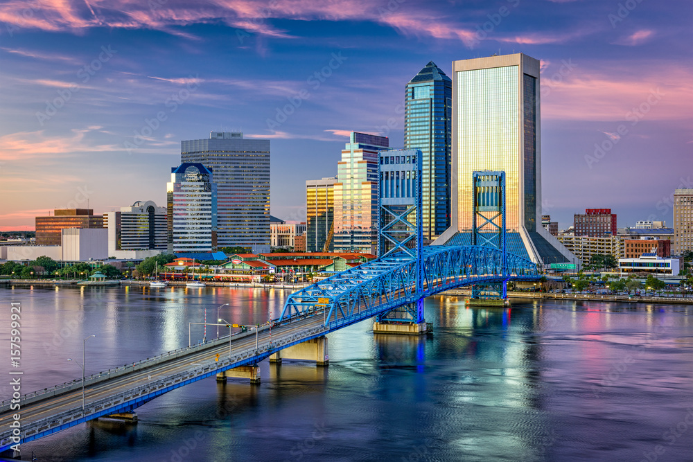 Fototapety, obrazy: Jacksonville, Florida, USA