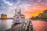 Fototapeta Sawanna - Savannah, Georgia, USA
