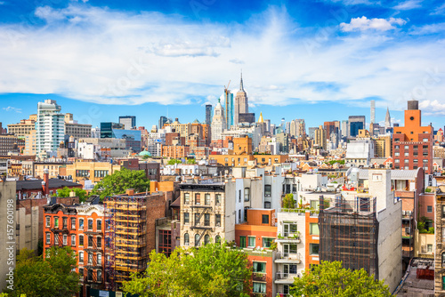 Photo Stands New York New York, New York, USA in Manhattan.