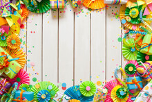 Colored Flags Garland, Gifts A...