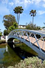 Charming Bridge Over The Venice California Canals