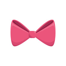 Decorative Bow Tie Icon Vector Illustration Graphic Design