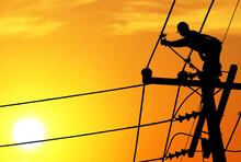 Shadow Electricians Repairing ...