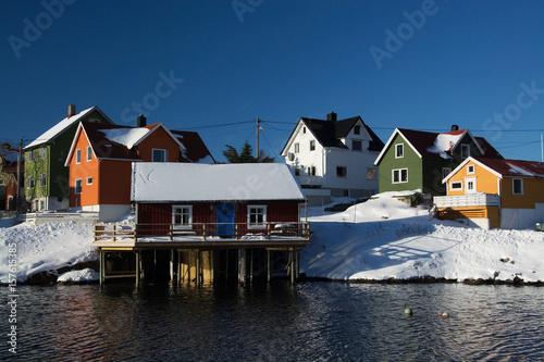 Papiers peints Arctique henningsvaer, Norwegen