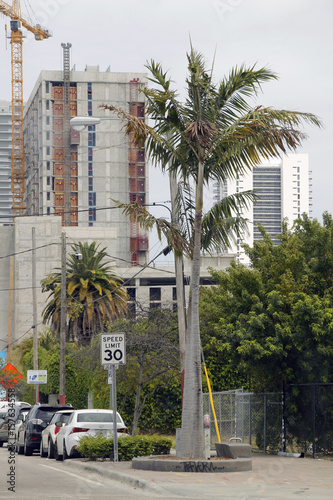 Foto op Plexiglas New York TAXI Miami