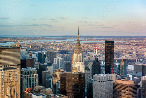 Foto op Aluminium New York Manhattan skyline from above, New York City
