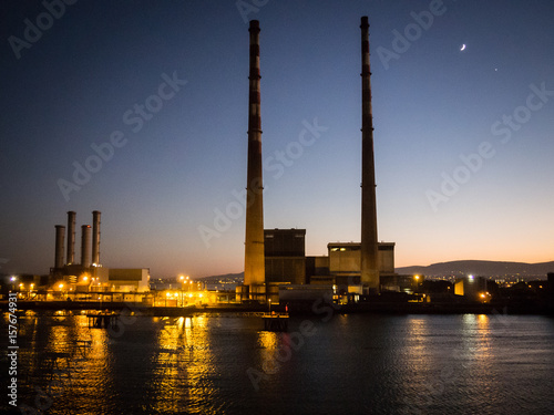 Poolbeg power station Poster